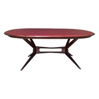 Italian Mid-Century Modern Dining Table