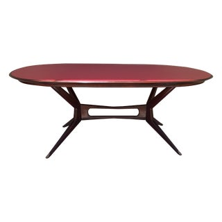 Italian Mid-Century Modern Dining Table