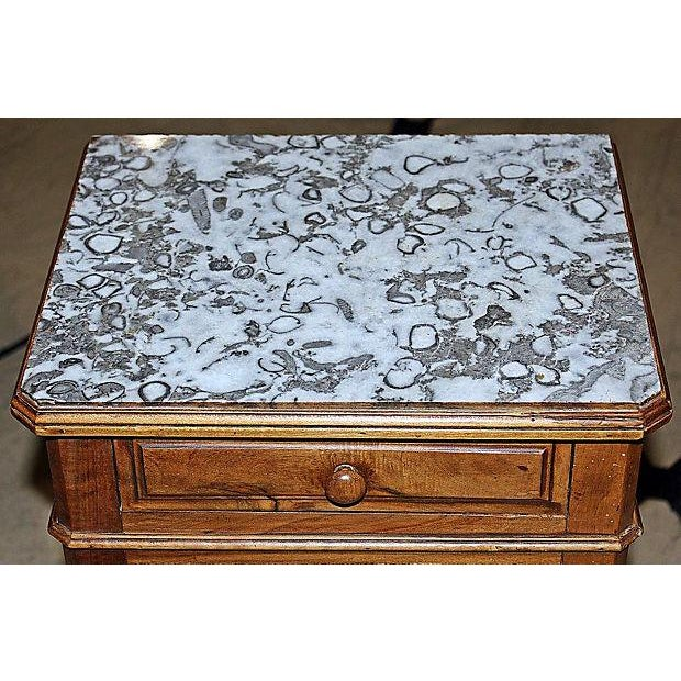 Image of French Louis Philippe Night Table