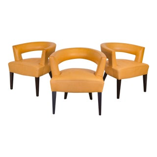 Set of Dakota Jackson Ringback Chairs