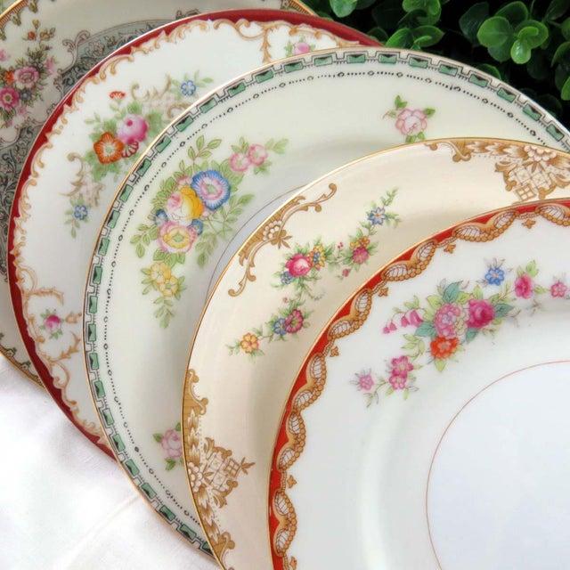 Mismatched Vintage Dessert Plates - Set of 8 - Image 11 of 11