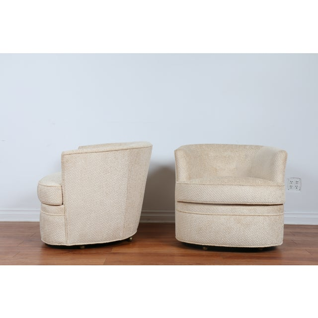 Swivel Vintage Beautiful Chairs - Pair - Image 6 of 10
