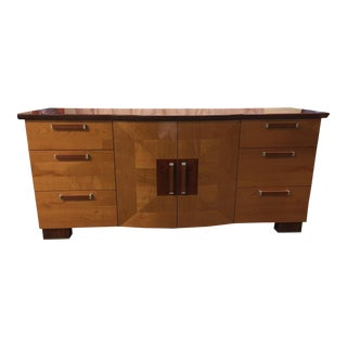 Italian Rosewood and Maple Dresser