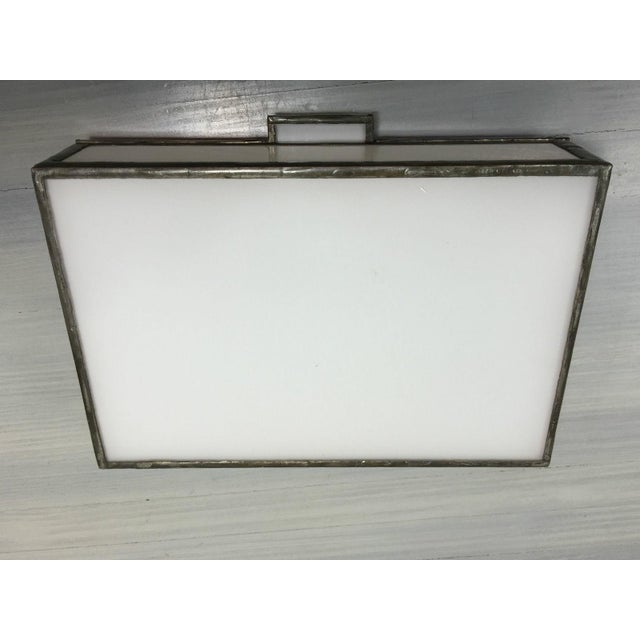 Vintage Mondrian Colored Blown Glass Box - Image 8 of 9