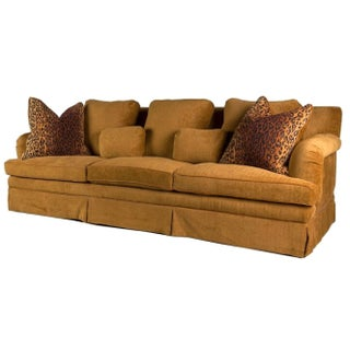 Custom Showhouse 9' Down Feather Sofa