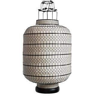 Cylinder Heibe Wire Lantern Large