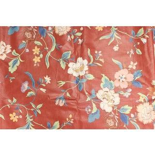 Jay Yang Glazed Chintz Floral Fabric