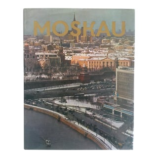""" Moskau "" Vintage 1975 Photography Cultural Travel Large Art Book in German"