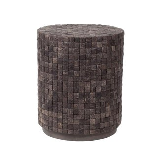 Coconut Shell End Table