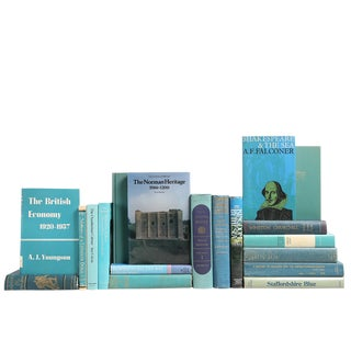 Ocean Blue British History Books - Set of 19