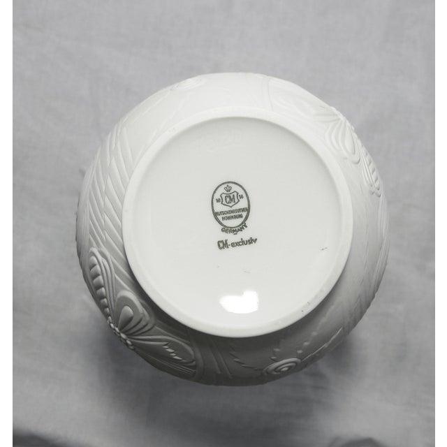 Image of Vintage Mid-Century Modern Bisque Porcelain Vase