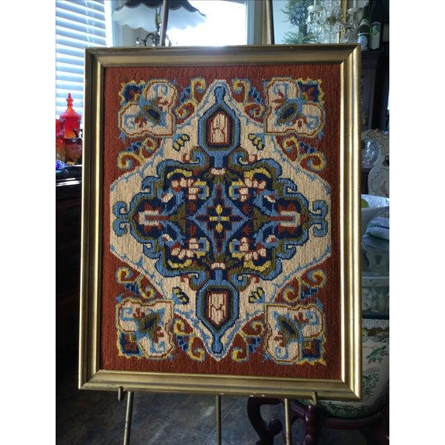 Vintage Needlework Embroidery - Image 2 of 6