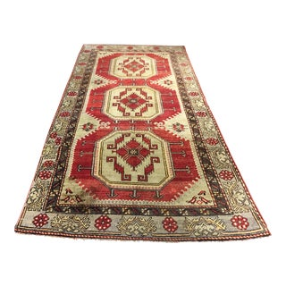"Bellwether Rugs Vintage Turkish Oushak Runner - 4'7"" x 9'4"""