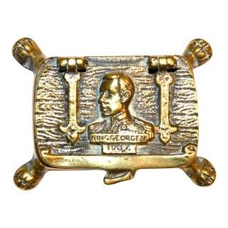 King George VI 1937 Commemorative Trinket Box