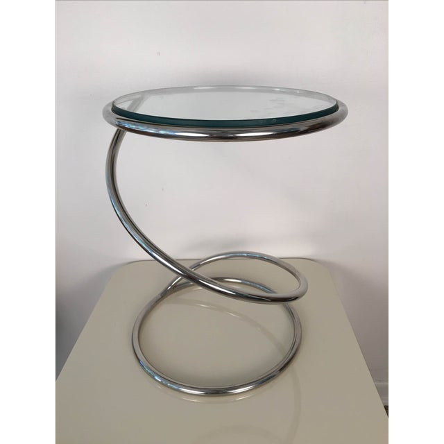 Leon Rosen for Pace Spiral Side Table - Image 4 of 7