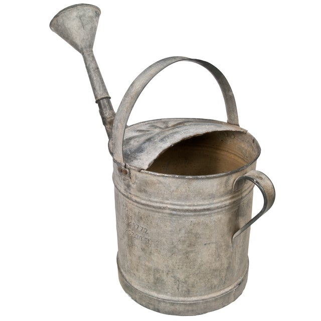 French Zinc Watering Can - Image 2 of 4