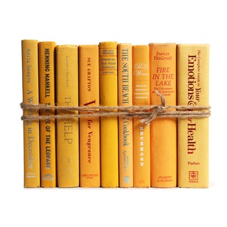 Modern Yellow ColorPak Of Books