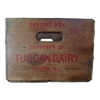 Vintage Rustic Wood Crate