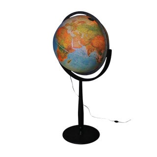 World Globe Floor Lamp
