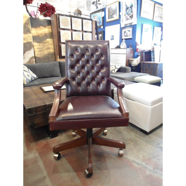 Stanley Leather Sofa Bangalore: Stanley Furniture Leather Office Chair