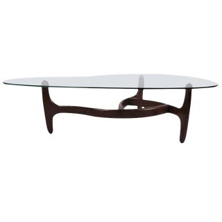 Adrian Pearsall Style Mid-Century Coffee Table