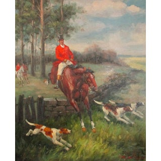 The Fox Chase Painting
