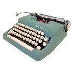 Image of Vintage Smith Corona Sterling Typewriter