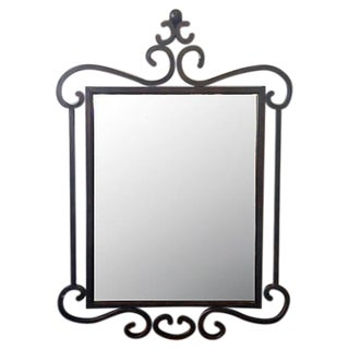 Curved Iron Mirror