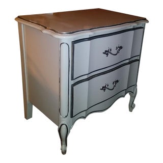Dixie French Provincial Silk Lined Nightstand