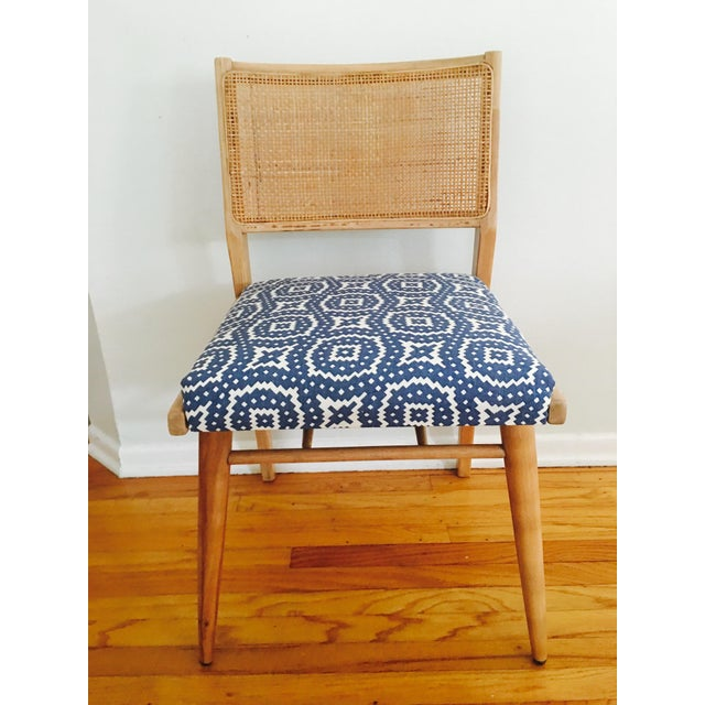 Boho Mid-Century Modern Cane Chair - Image 2 of 6