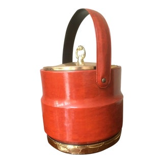 Mid-Century Hollywood Regency Style Ice Bucket