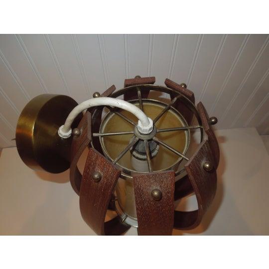 Fredrick Ramond Bentwood Pendant Light - Image 4 of 6