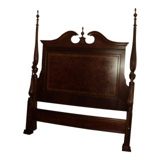 Drexel Heritage Chippendale Style Queen Poster Bed