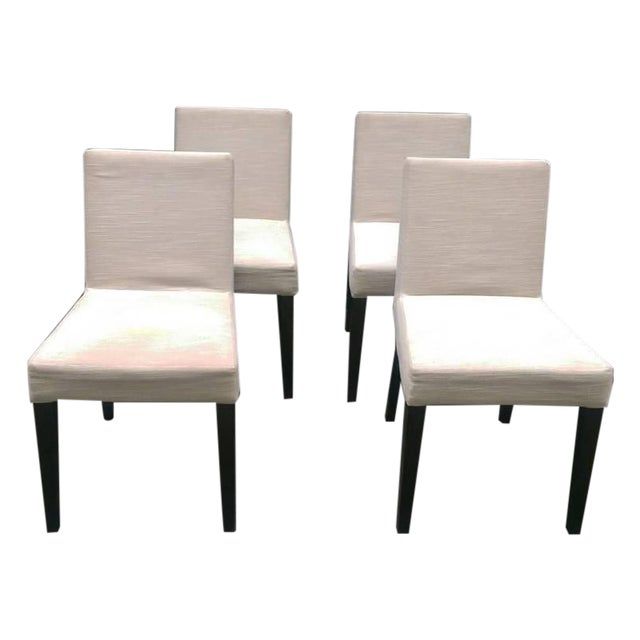 Ligne Roset Upholstered Dining Chairs - Set of 4 - Image 1 of 7