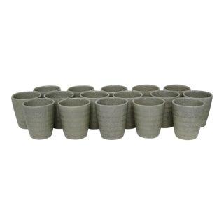 Porcelain Sake Cups - Set of 16