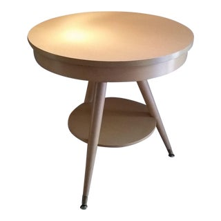 Mersman Mid-Century Modern Blonde End Table