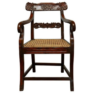 Anglo Indian Rosewood Armchair