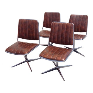 ChromeCraft Mid-Century Modern Dining Set