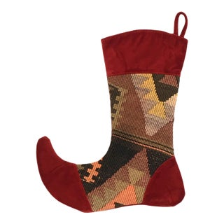 Kilim Christmas Stocking | Juliet