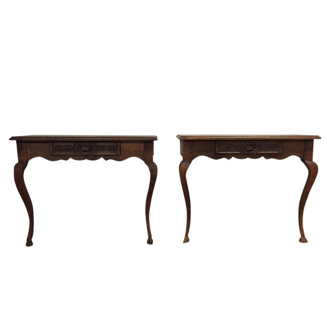 Image of Antique Console Tables - A Pair