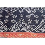 Image of Red and Ebony Vintage Kantha Throw