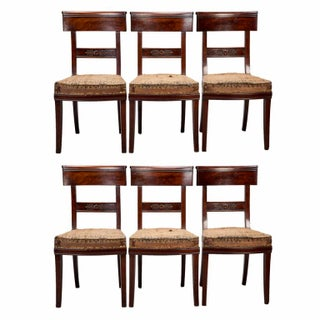 Early 19th Century French First Empire Dining Chairs - Set of 6
