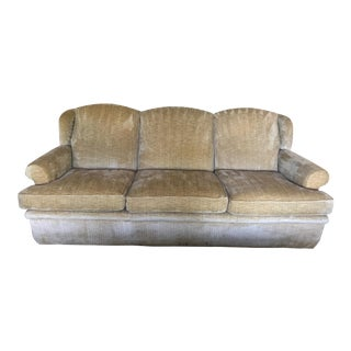 Custom Chenille Sofa - A Pair
