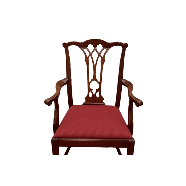 Chippendale Style Mahogany Dining Chairs - S/8 - Image 3 of 10