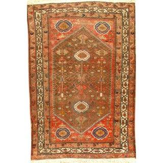 """Pasargad N Y Antique Persian Malayer Rug - 4'3"""" X 6'2"""""""