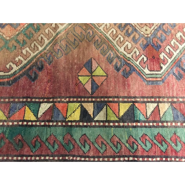 "Vintage Bellwether Rugs Turkish Oushak Rug - 5' x 9'3"" - Image 10 of 10"