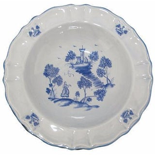 Blue & White Delft Bowls - Set of 4