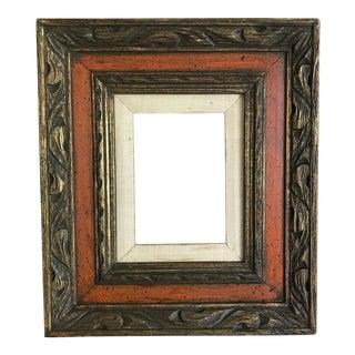 Vintage Mid-Century Carved Frame
