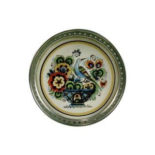Delft Hand Painted Wine Coaster