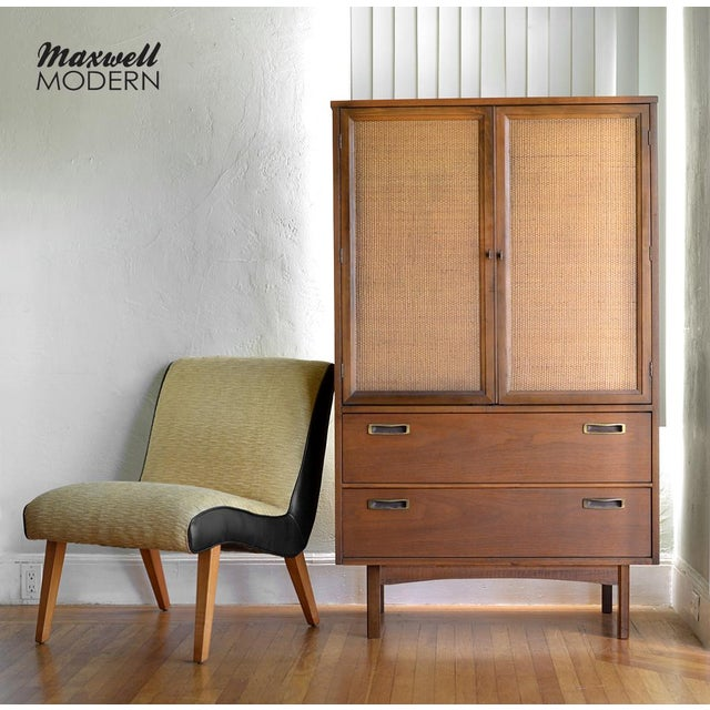Mid-Century Modern Armoire Dresser - Image 2 of 7